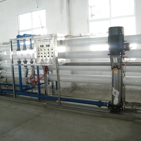 广东利鸿基20m³/h 反渗透纯水系统