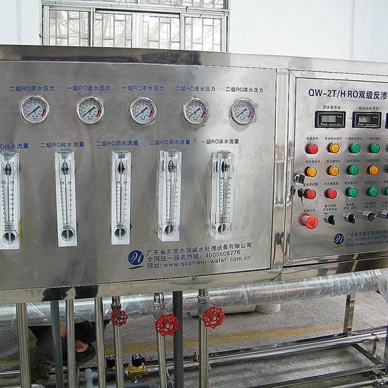 广西宝瑞坦制药2m³/h 二级RO纯化水系统