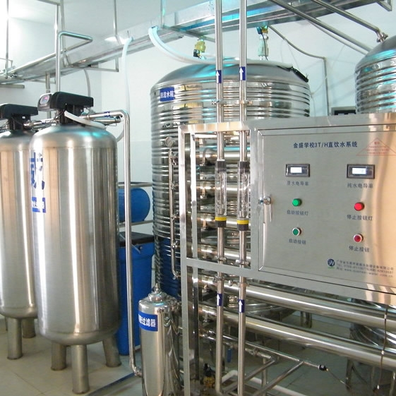 北京师范大学石竹附属学校3m³/h直饮水系统